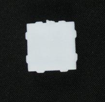 Patio bolt screw hole cover