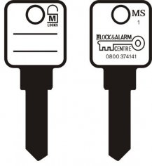 MS1 5 Pin key blank