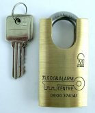 234 Closed shackle padlock