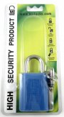 40mm Blue padlock