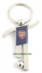 Arsnal football key tag