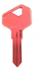 LF27 Red key blank