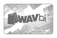 WAVbi Manager card