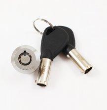 Tubular safe lock