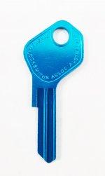 LF31R Blue key blank