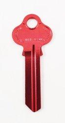 LW5 Red key blank