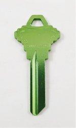 SH5 Green key blank