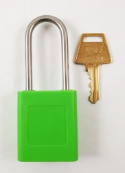 Green 134 Safety Lockout Padlock