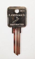 MS4 LOKtouch Key blank