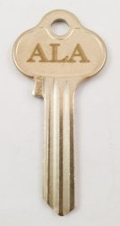 ALA Security key blank