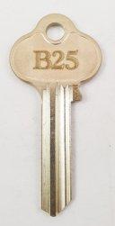 B25 Key blank