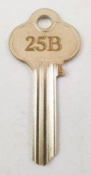 25B Key blank
