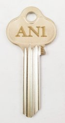 AN1 Key blank
