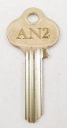 AN2 Key blank
